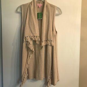 NWT Lilly Pulitzer Abbott Sweater Vest